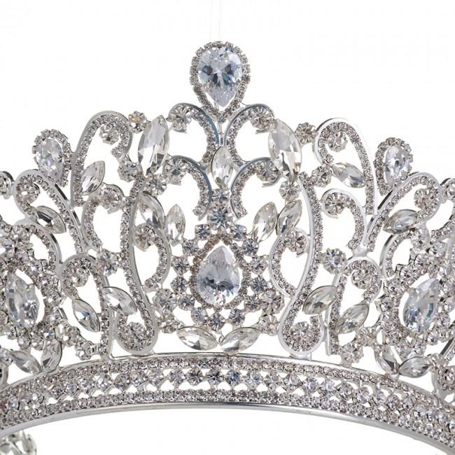 Wholesale Charming Wedding Bridal Bridesmaid Tiara Crown Headband Fashion Party Jewelry Crown