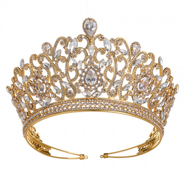 Wholesale Charming Wedding Bridal Bridesmaid Tiara Crown Headband Fashion Party Jewelry Crown