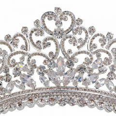Attractive Women Princess Crown Headband Wholesale Tiara Hair Band Jewelry Crowns Fashion Bridal Accessories