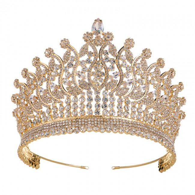Tiaras Crowns Wedding Fashion Headdress Bridal Hair Accessories For Women Elegant