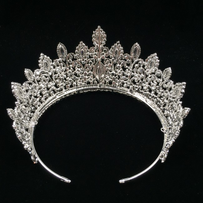 Fashion Queen Crown For Women Girl Diadem Wedding Hair Accessories Crown Jewelry Gift