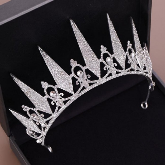Women Girl Bride Wedding Birthday Party Tiara Crown Crystal Headband Hair Jewelry Headpieces