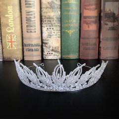 Trendy Shining Rhinestone Wedding Tiaras Crowns Royal Princess Pageant Bridal Party Dress Hair Jewelry