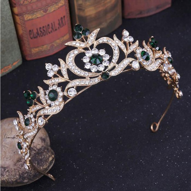 Fashion Tiaras Crowns for Girls mujer Princess Noiva Bride Wedding Birthday Crystal Jewelry