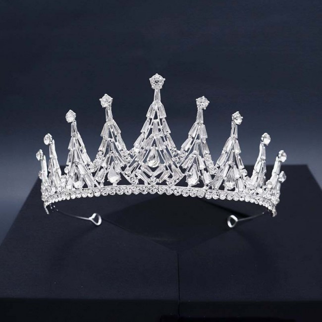 Fashion Bridal Wedding Hair Accessories Shining Crystal Tiaras Crowns Headband for Women Girl Bride Noiva Decor Jewelry
