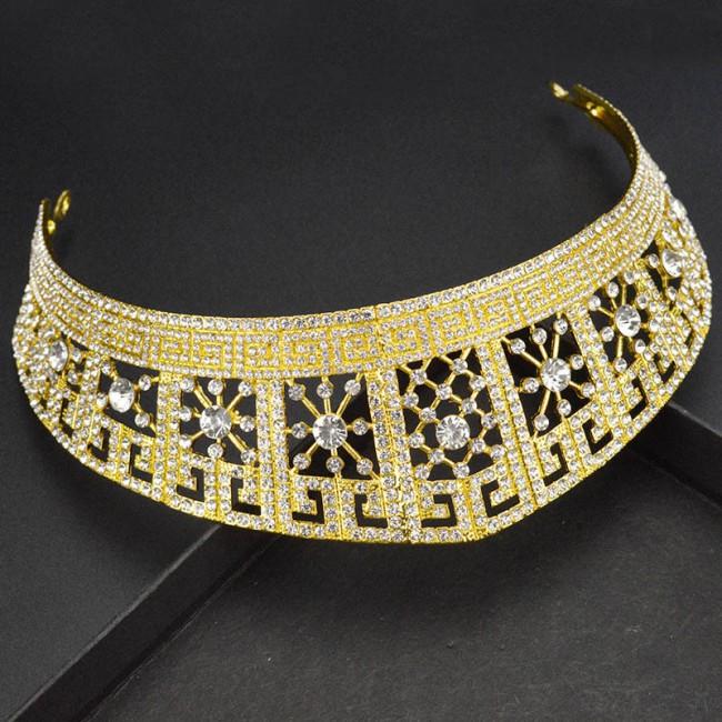 Bridal Wedding Tiaras and Crowns Shining Crystal Headbands Hairbands Women Girls Hair Jewelry
