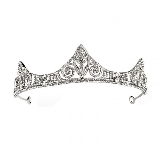 Delicate Royal King Queen Tiaras Crowns Shining Crystal Headbands Bride Noiva Wedding Hair Jewelry Accessories