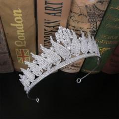 Shining Crystal Rhinestones Tiaras Crowns Princess Pageant Bride Noiva Bridal Wedding Party Hair Jewelry