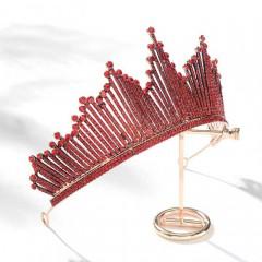 Royal Queen Princess Glitter Crystal Tiara Crown Headband Bride Bridal Wedding Headpieces
