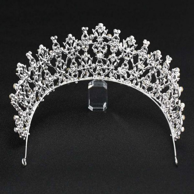 New Design Shining Crystal Tiaras Crowns Diadem Princess Birthday Bridal Bride Wedding Hair Jewelry