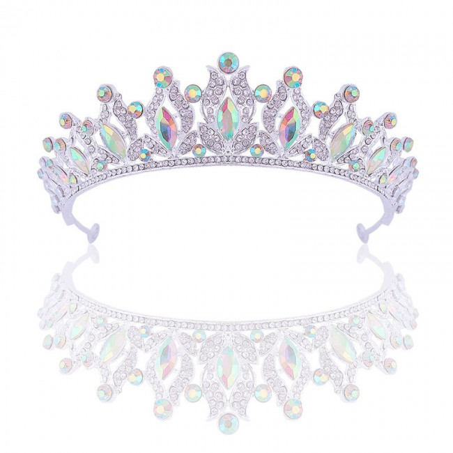 Bling Crystal Tiaras Crowns Rhinestone Headbands for Women Girls Bride Noiva Wedding Hair Jewelry Accessories