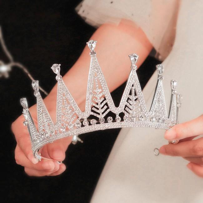 Luxury Shining Crystal Tiaras Crowns Headband Bride Noiva Wedding Dress Decor Hair Accessories