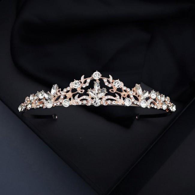 Women Girl Birthday Party Tiaras Crystal Jewelry Princess Diadem Crowns Bridal Bride Wedding Headbands