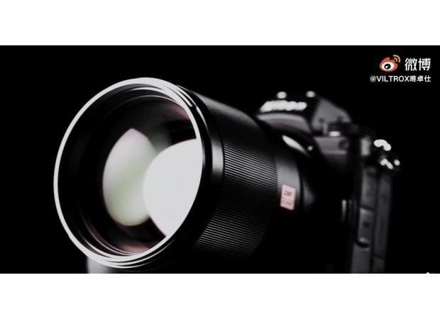 Viltrox Nikon Z-mount: the 85mm f/1.8 coming soon