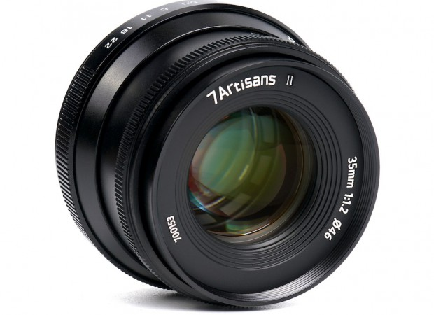 new 7artisan 35mm f/1.2 Mark II