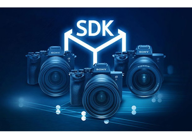 Sony announced a new SDK for camera-automation software, app library, support, and website focus on the e-commerce sector