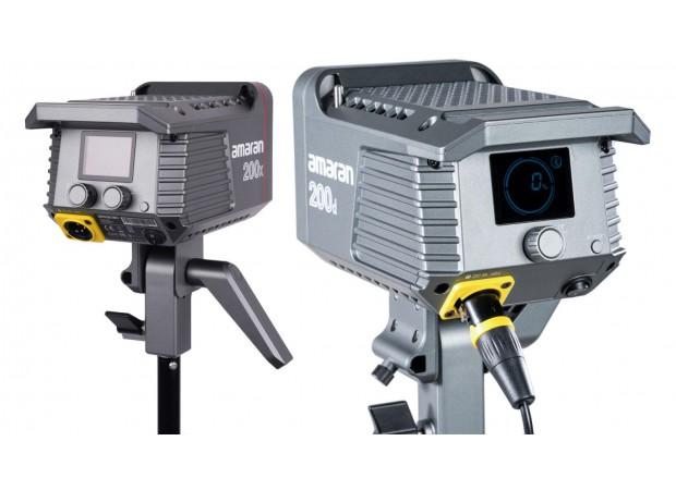 APUTURE Announces Amaran 100W and 200W AMARAN 100D/X & 200D/X Daylight and Bi-Color LEDs