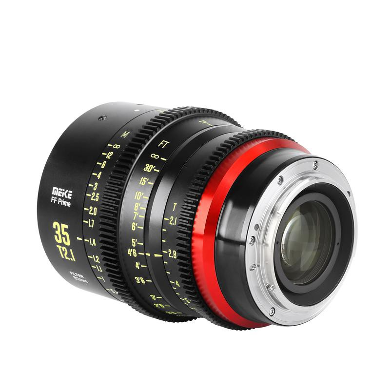 Vloggears Meike Prime 35mm T2.1 Cine Lens for Full Frame Cinema Camera