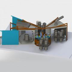 Carrousel Rotomolding Machine