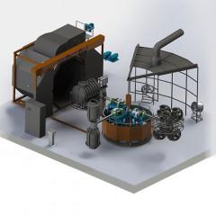 Carrousel Rotomolding Machines