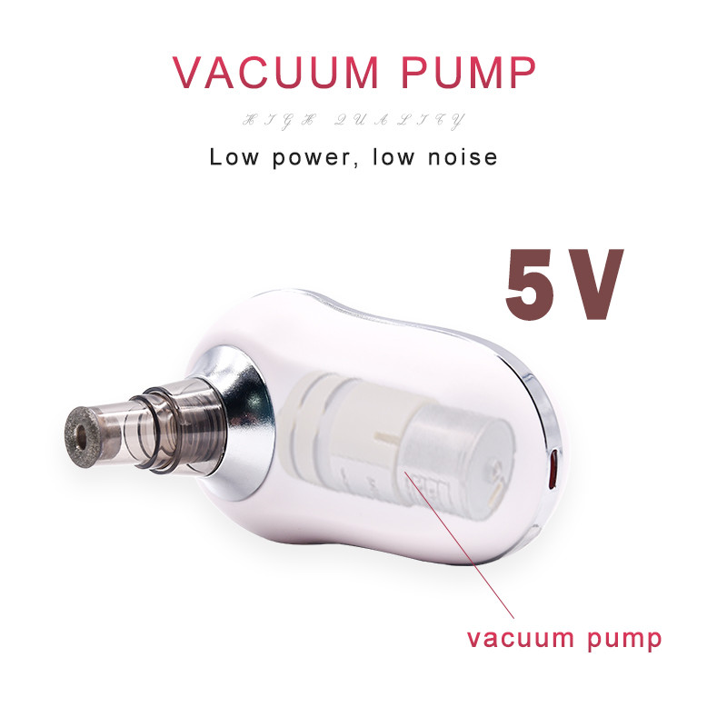 New product Facial and Whitehead Electronic Blackhead Remover Vacuum Waterproof White USB Head Power