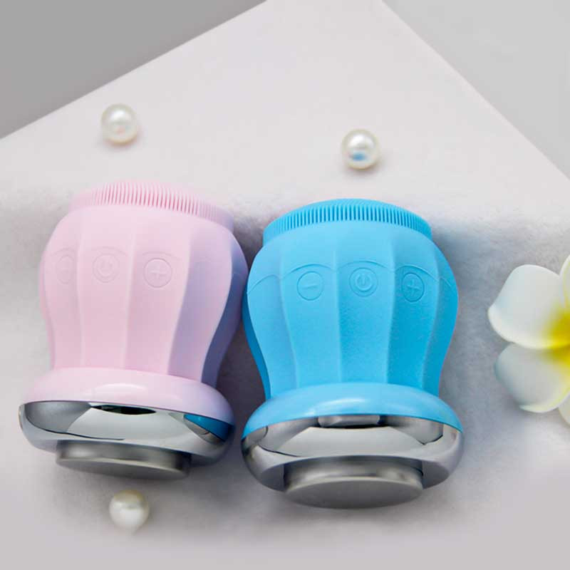 Can be heated face cleaner cleansing skin cleansing makeup remover USB charging