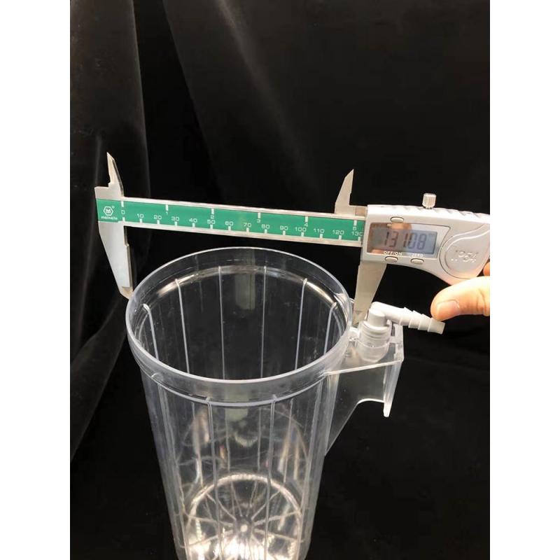 1000ML 1500ML Medical Reusable PC Drainage Suction Bottle