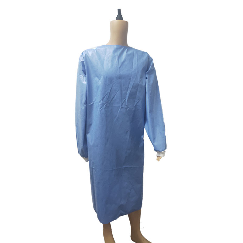 COVID-19 Isolation Gown AAMI Level 2 SMS (PP+PE)