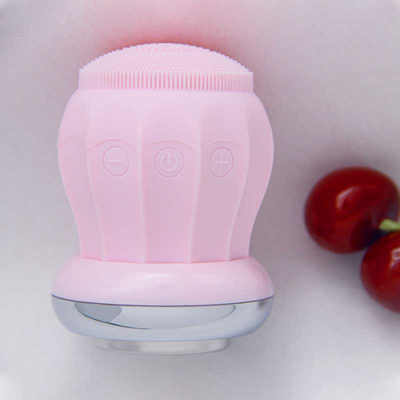Portable face washing cleansing skin cleansing makeup remover can be heated face cleaner USB charging