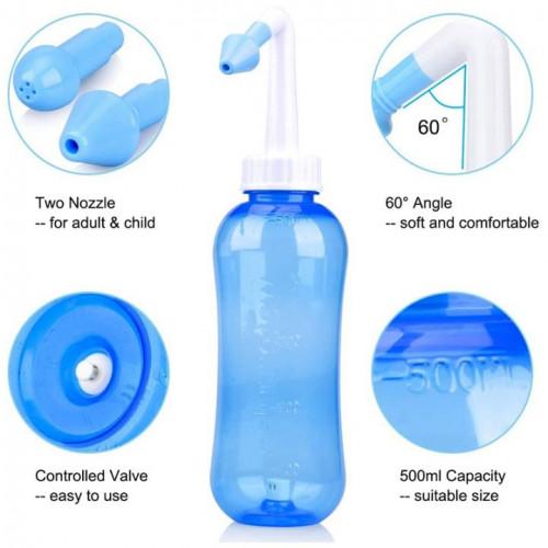 Hot sale sinus nasal aspirator adult children rhinitis sinusitis nasal cavity and nasal cavity cleaning