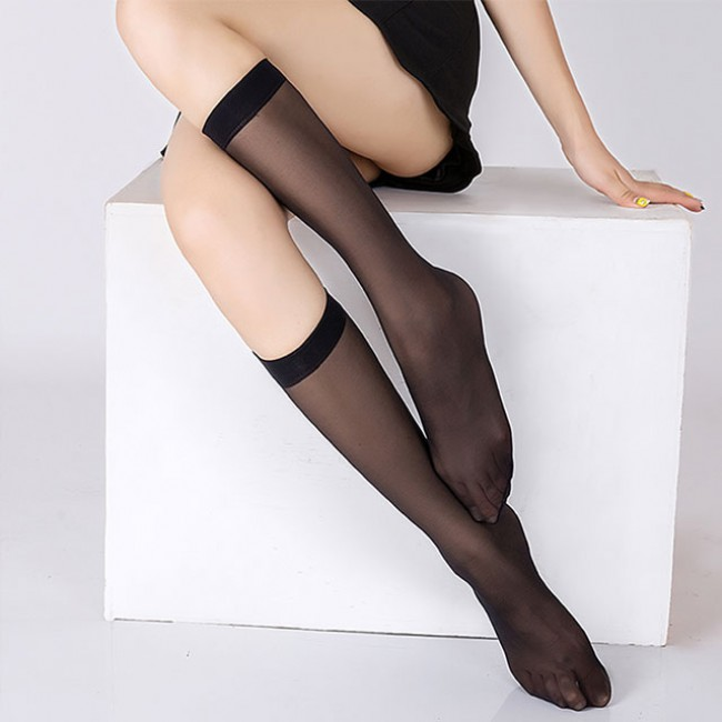 Knee High Nylon Socks 4N2K1550