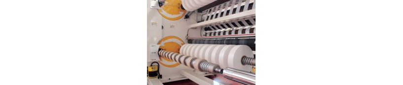high speed 4 shafts turret slitter paper film slitter-with very good quality