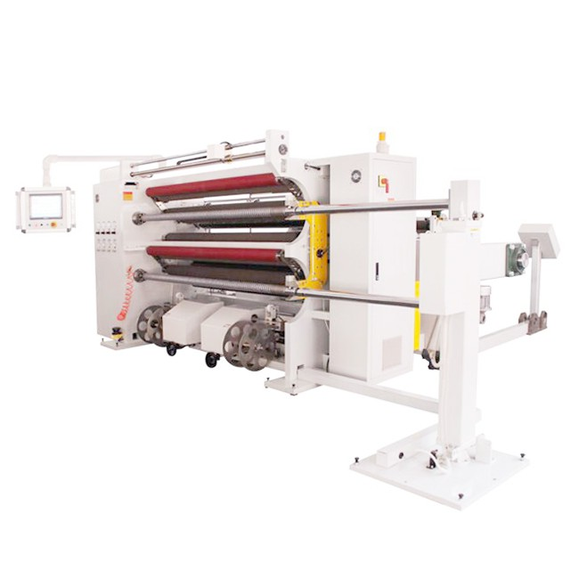 HN2000-F  Slitter Rewinder For Plastic Film Paper Foils Labels