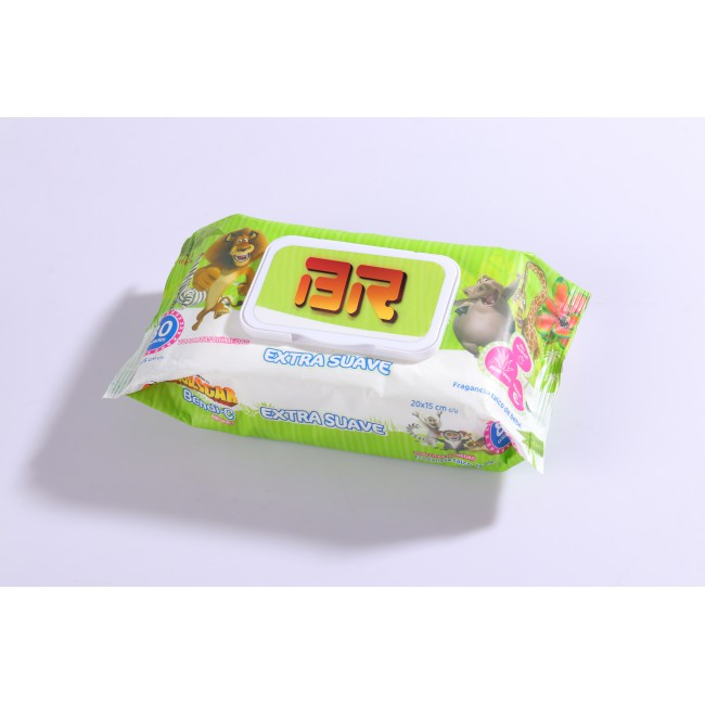 Eco friendly baby wet wipes, single pack baby wipes