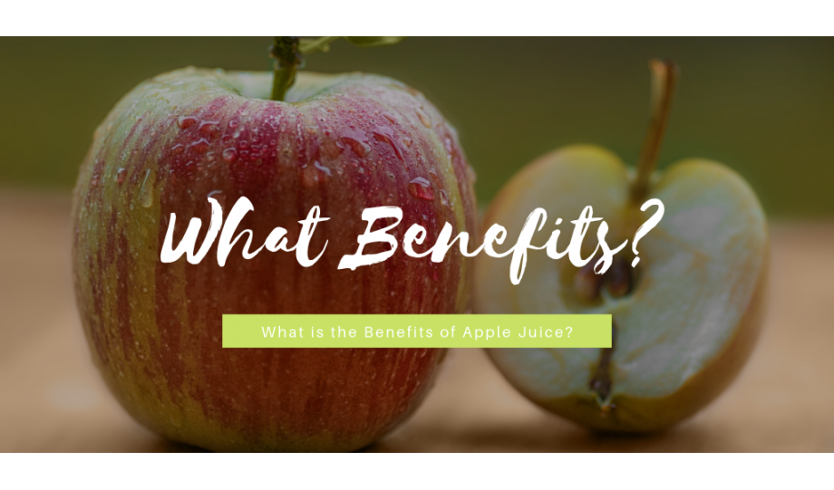 What's the benefit of apple juice