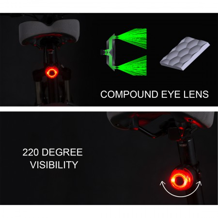 LED Bike Tail Light USB rechageable