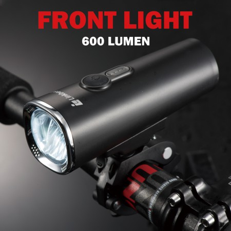 600 Lumen LED Bike Light Set