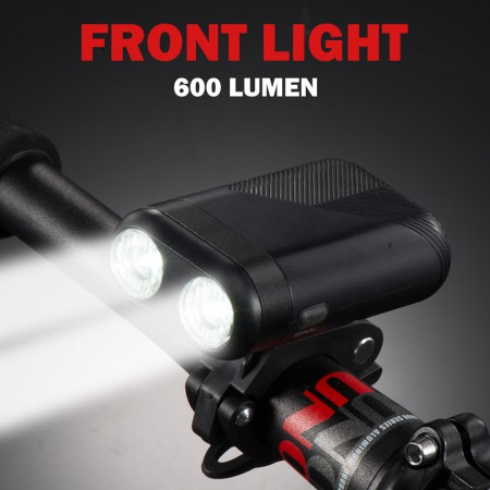 600 Lumen Bicycle Front Light
