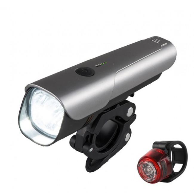 600 Lumen Bike Light Set