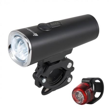 600 Lumen LED Bike Light Set