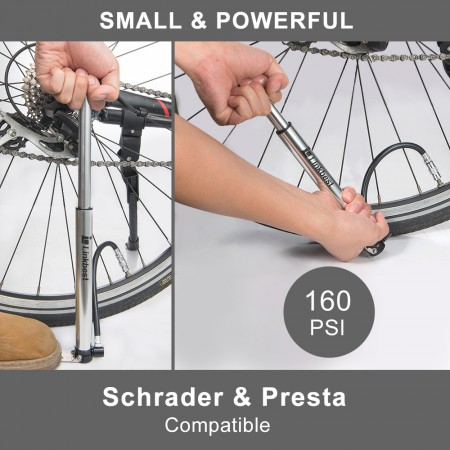 Mini Floor Bike Pump