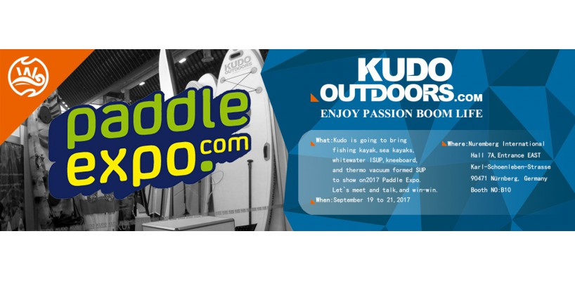 2017 Paddle Expo Invitation from KUDOOUTDOORS