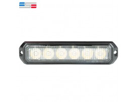 Car Truck Side Surface Mount 6 LED strobe light