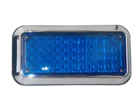 LED square ambulance strobe warning light