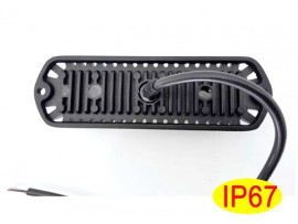Warning lighthead 6 led amber strobe grille lights for sale