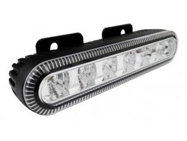 6 LED strobe warning grille lighthead for emergency vehicle