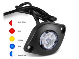 8 LED hideaway warning light