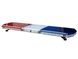 Thin LED warning light bar vehicle warning light bar