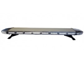 Low profile vehicle roof led emergency police light bar