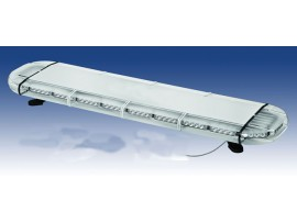 High intensity LED flashing light bar for emergency vehicle